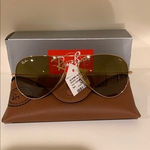 New With Tags Ray-Ban Aviators